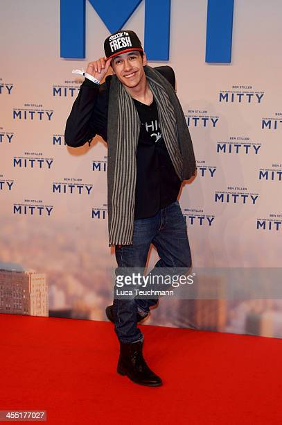 Marvin Herzsprung attends the German premiere of the film 'The Secret Life Of Walter Mitty' at Zoo Palast on December 11, 2013 in Berlin, Germany.