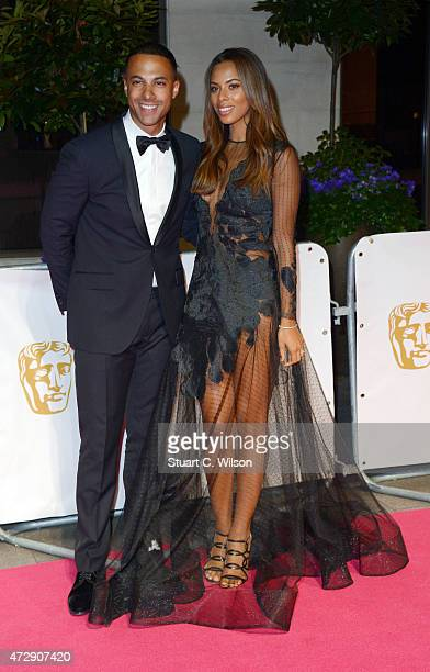 Marvin Humea and Rochelle Humes attend the After Party dinner for the House of Fraser British Academy Television Awards at The Grosvenor House Hotel...