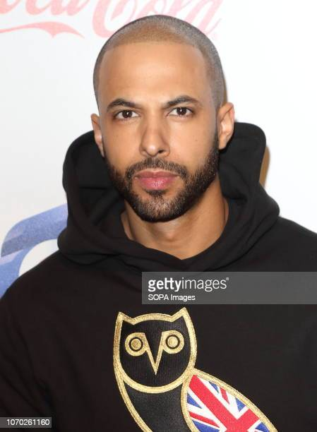 Marvin Humes at the Capital Jingle Bell Ball with CocaCola on Day one at The O2 in Peninsula Square