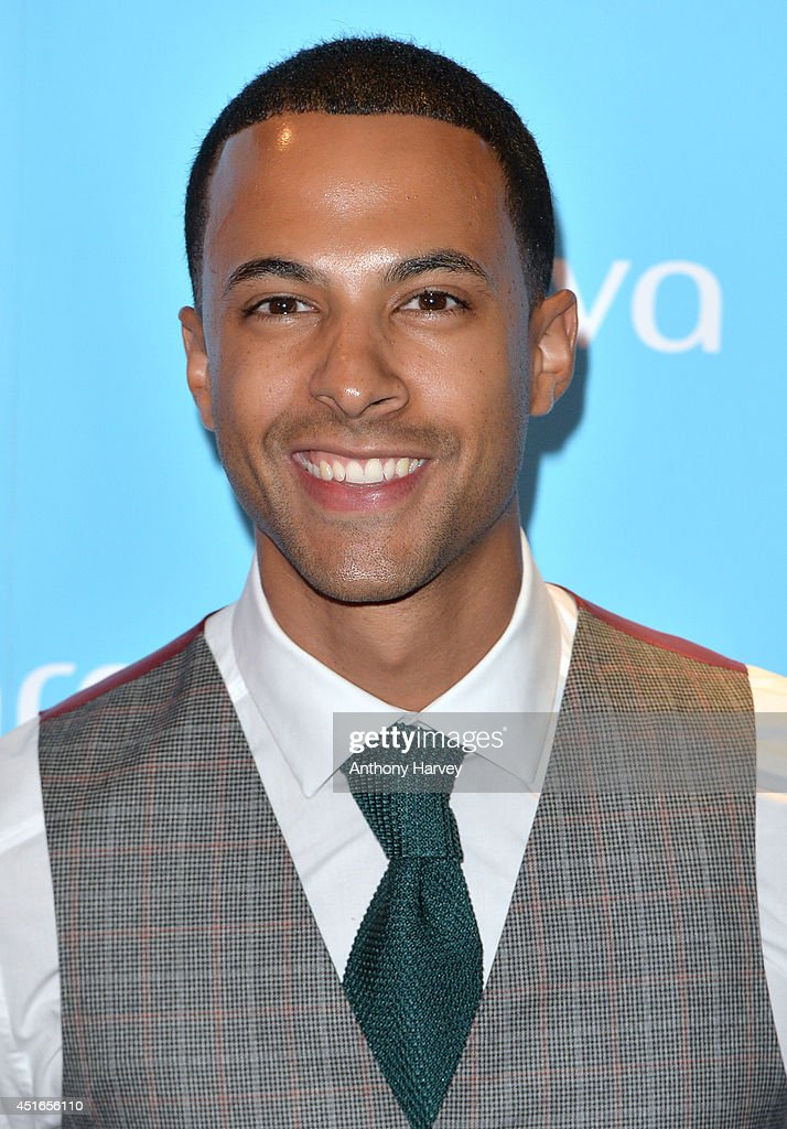 Marvin Humes attends the Arqiva Commercial Radio Awards at Westminster Bridge Park Plaza Hotel on July 3, 2014 in London, England.
