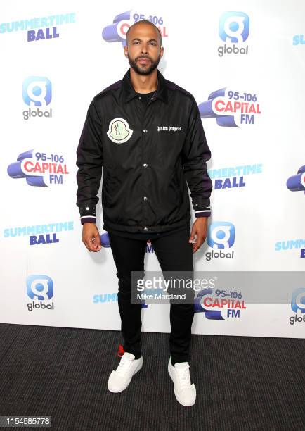 Marvin Humes attends the Capital FM Summertime Ball at Wembley Stadium on June 08 2019 in London England