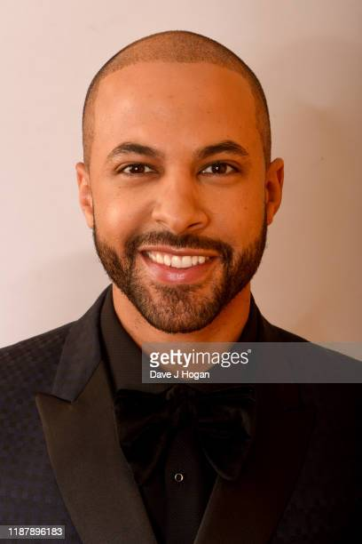 Marvin Humes backstage at BBC Children in Need's 2019 Appeal night at Elstree Studios on November 15 2019 in Borehamwood England