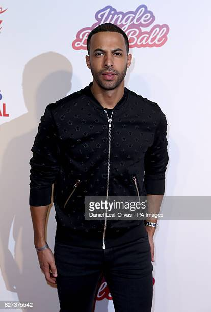 Marvin Humes during Capital's Jingle Bell Ball with CocaCola at London's O2 arena PRESS ASSOCIATION Photo Picture date Saturday 3rd December 2016...