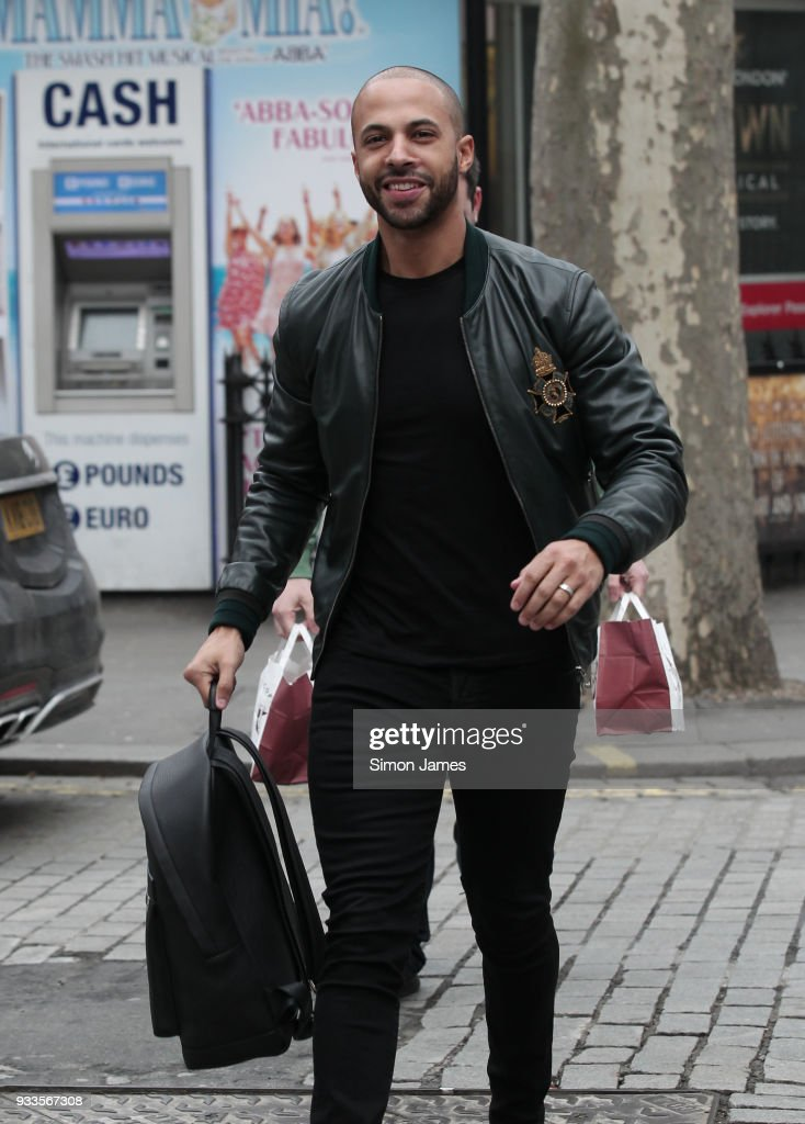 London Celebrity Sightings -  March 18, 2018