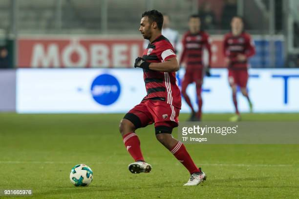 Marvin Job Matip of Ingolstadt controls the ball during the Second Bundesliga match between FC Ingolstadt 04 and VfL Bochum 1848 at Audi Sportpark on...