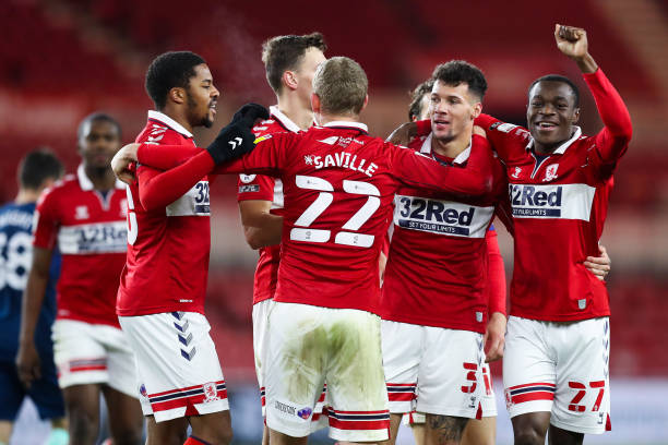 GBR: Middlesbrough v Derby County - Sky Bet Championship