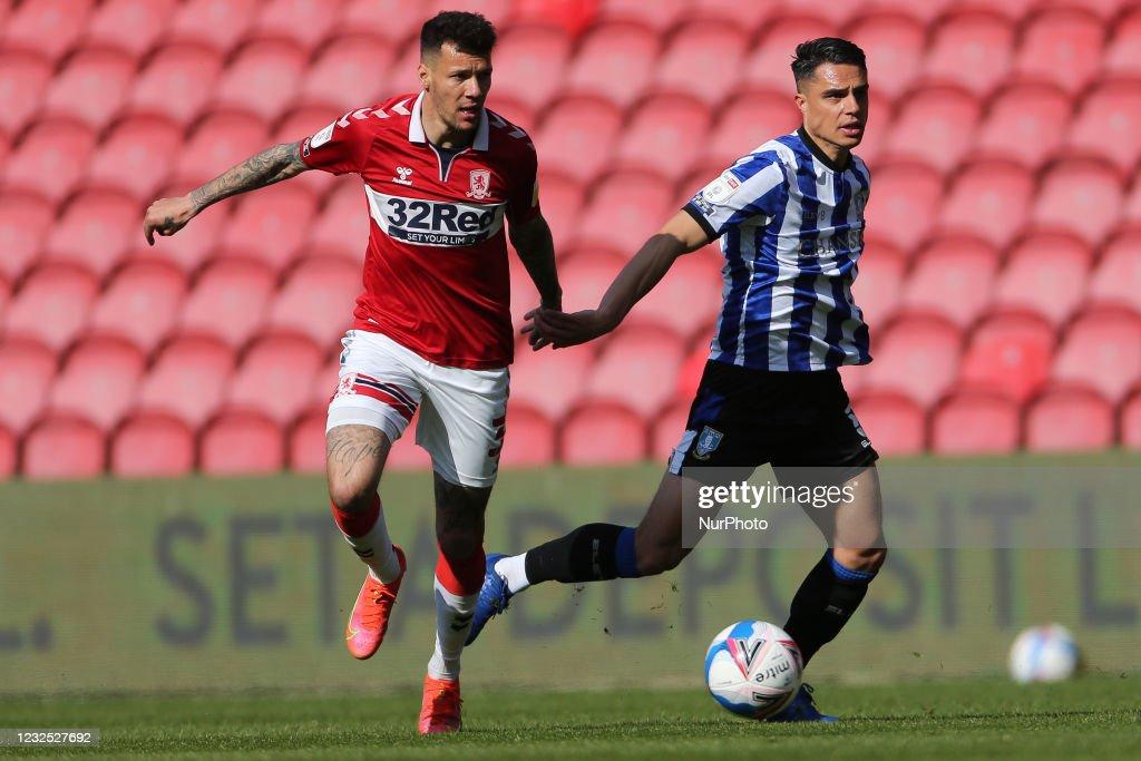 Middlesbrough v Sheffield Wednesday - SKy Bet Championship : News Photo