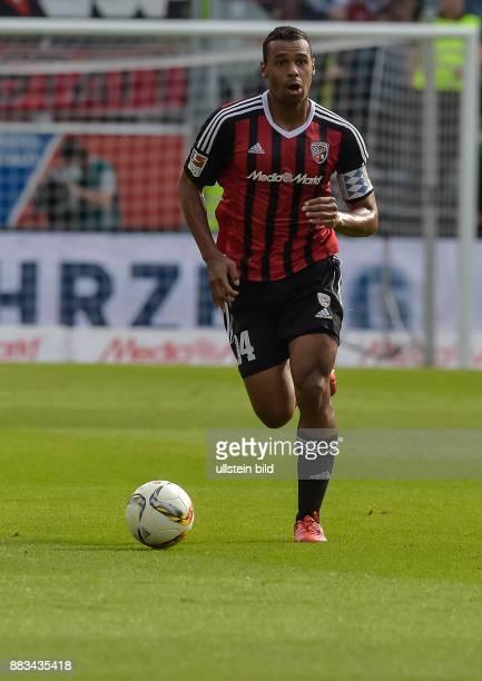 Marvin Matip in Aktion waehrend dem Fussball Bundesliga Spiel FC Ingolstadt gegen Eintracht Frankfurt am 8 Spieltag der Saison 2015/2016 im Audi...