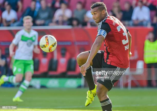 Marvin Matip in Aktion waehrend dem Fussball Bundesliga Spiel FC Ingolstadt gegen Vfl Wolfsburg am 4 Spieltag der Saison 2015/2016 im Audi Sportpark...