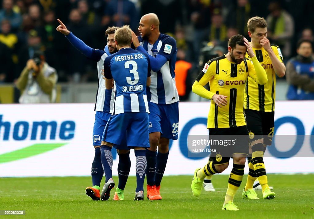 Hertha BSC v Borussia Dortmund - Bundesliga