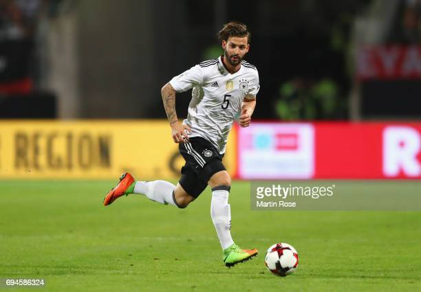 marvin plattenhardt of germany in action during the fifa 2018 world cup qualifier between germany and