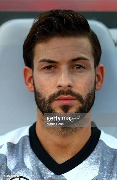 Marvin Plattenhardt of Germany looks on before the FIFA 2018 World Cup Qualifier between Germany and San Marino at on June 10 2017 in Nuremberg...
