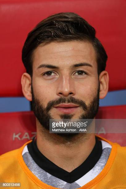 Marvin Plattenhardt of Germany prior to the FIFA Confederations Cup Russia 2017 Group B match between Germany and Chile at Kazan Arena on June 22...
