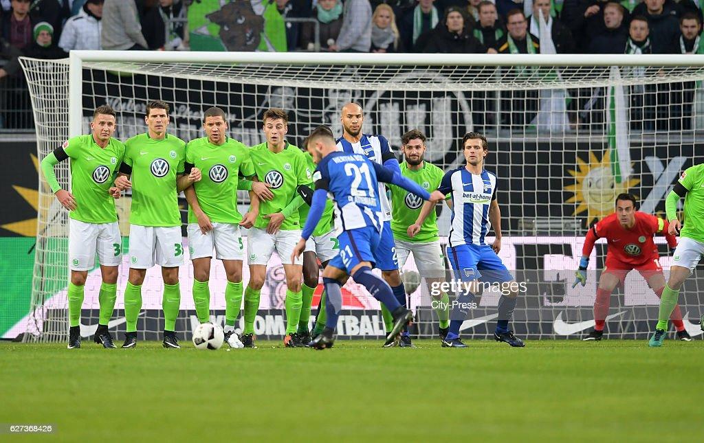 VfL Wolfsburg v Hertha BSC - 1 Bundesliga : News Photo