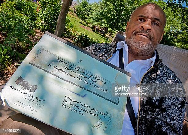 Marvin Rich in Crispus Attucks park in Washington DC
