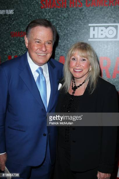 Marvin Scott and Lorri Scott attend HBO's Premiere of SMASH HIS CAMERA at MoMA and The Monkey Bar on June 1st 2010 in New York City