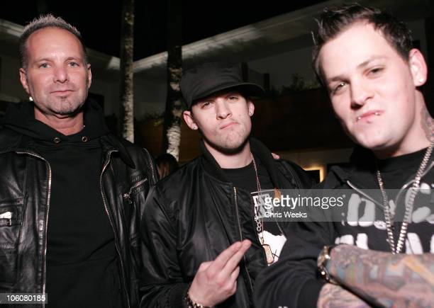 Marvin Scott Jarrett Joel Madden and Benji Madden