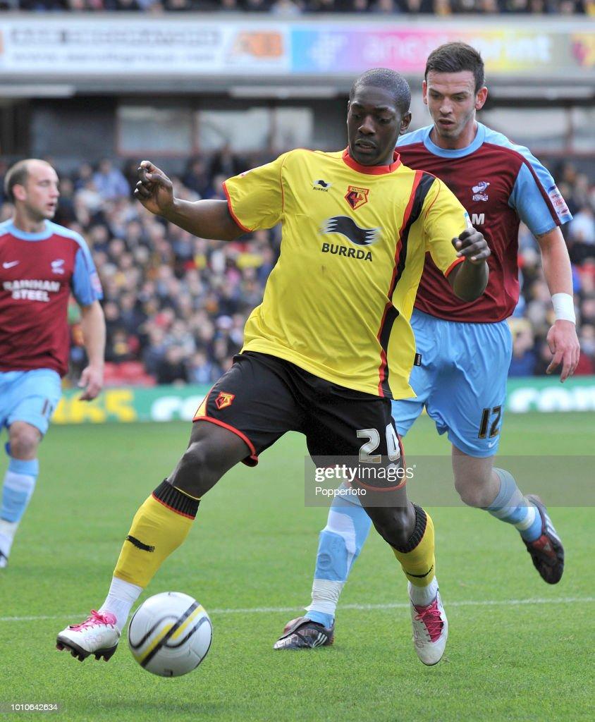 Watford v Scunthorpe United : News Photo