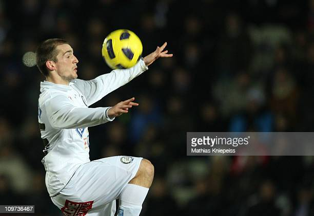 Marvin Weinberger of Sturm Graz go up for a header during the tipp3Bundesliga powered by TMobile match between FK Austria Wien and SK Puntigamer...