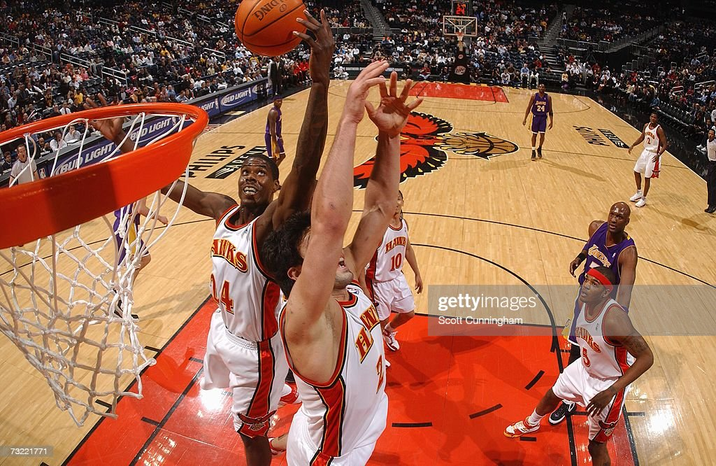 Los Angeles Lakers v Atlanta Hawks : News Photo