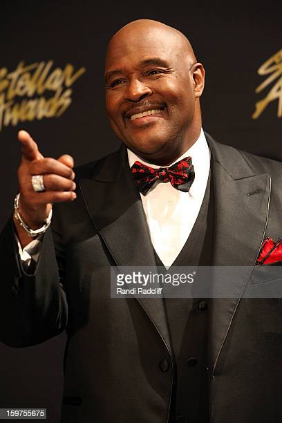 Marvin Winans attends the 28th Annual Stellar Awards Press Room at Grand Ole Opry House on January 19 2013 in Nashville Tennessee