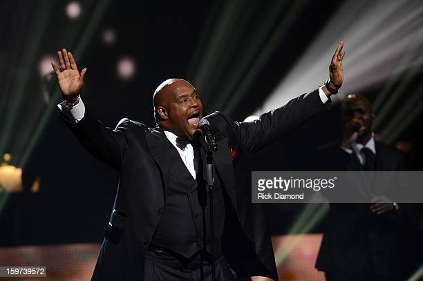 Marvin Winans attends the 28th Annual Stellar Awards Show at Grand Ole Opry House on January 19 2013 in Nashville Tennessee