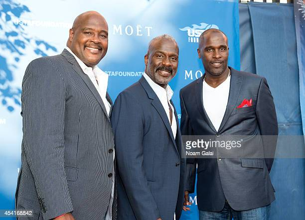 Marvin Winans BeBe Winans and Carvin Winans attend the 14th Annual USTA Opening Night Gala at USTA Billie Jean King National Tennis Center on August...