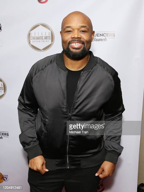 Marvin Winans Jr attends the Tricky and Terk Visions presents The Annual Oscars Weekend Influencers Brunch held at SLS Hotel at Beverly Hills on...
