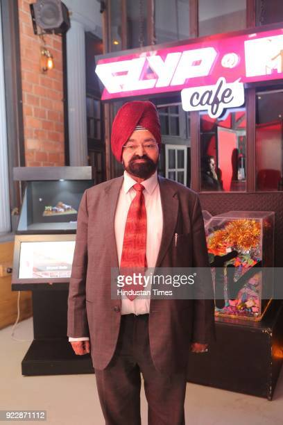 Marwah enjoys the performance of Delhibased singer Akhil Sachdeva during the night of the day of love February 14 Valentine's Day at FLYP@MTV on...