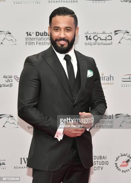 Marwan Abdullah Saleh attends the Opening Night Gala of the 14th annual Dubai International Film Festival held at the Madinat Jumeriah Complex on...