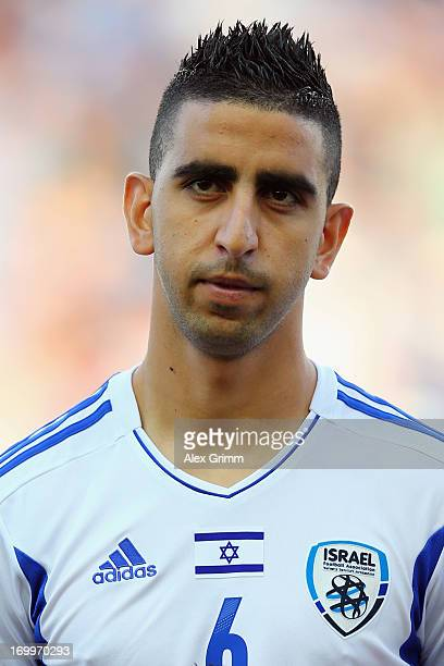 Marwan Kabha of Israel during the UEFA European U21 Championship Group A opening match between Israel and Norway at Netanya Stadium on June 5 2013 in...