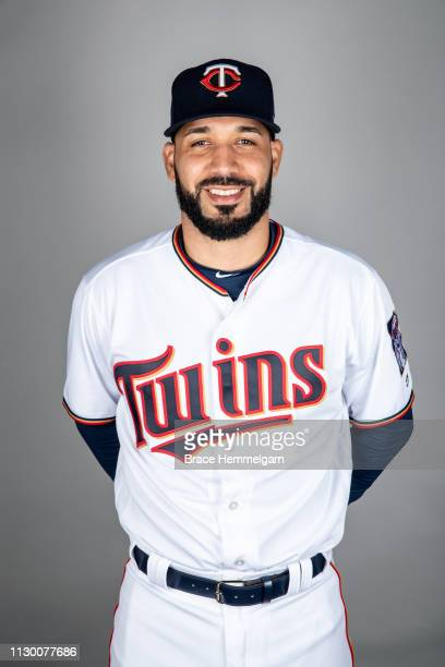 Marwin Gonzalez of the Minnesota Twins poses during Photo Day on Sunday March 3 2019 at CenturyLink Sports Complex in Fort Myers Florida