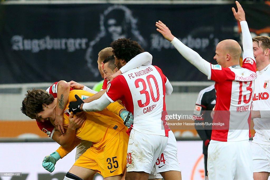 FC Augsburg v Bayer 04 Leverkusen  - Bundesliga For DFL : News Photo