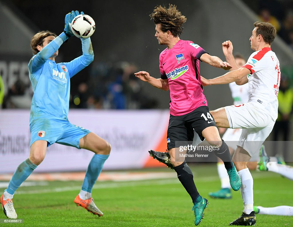 FC Augsburg v Hertha BSC - 1 Bundesliga : News Photo