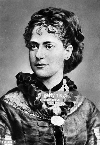 Marx Eleanor Politician Socialist D/GB *1601185531031898 the youngest daughter of Jenny and Karl Marx Portrait undated about 1880 Vintage property of...