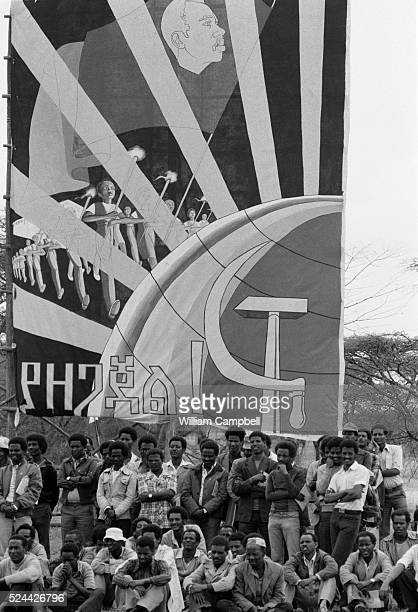 Marxist Revolutionary Signs in Ethiopia