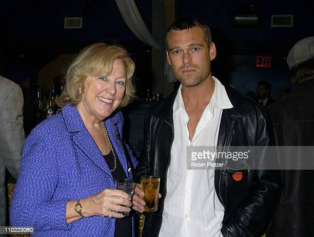 Mary Alice Dwyer Dobbin and Grayson McCouch during Party for The Hot Men of CBS Guiding Light and As The World Turns which was filmed for David...