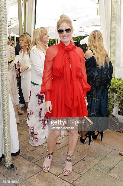 Mary Alice Haney attends NETAPORTER Celebrates Women Behind The Lens at Chateau Marmont on February 26 2016 in Los Angeles California