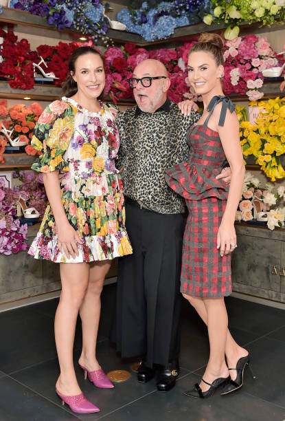 CA: Mary Alice Malone and Elizabeth Chambers Hammer Celebrate the Launch of the Malone Souliers Red Carpet Capsule Collection