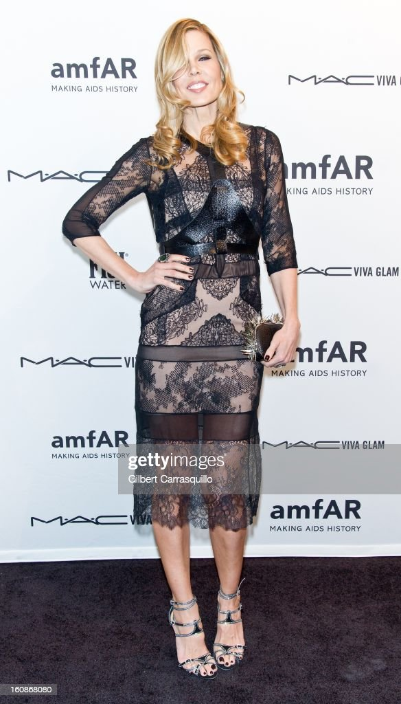 Mary Alice Stephenson attends amfAR New York Gala To Kick Off Fall 2013 Fashion Week at Cipriani, Wall Street on February 6, 2013 in New York City.
