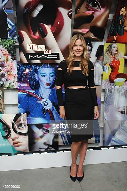 Mary Alice Stephenson attends MAC Cosmetics and Miles Aldridge celebrate NYC Rizzoli book launch Miles Of MAC at Steven Kasher Gallery on September 9...