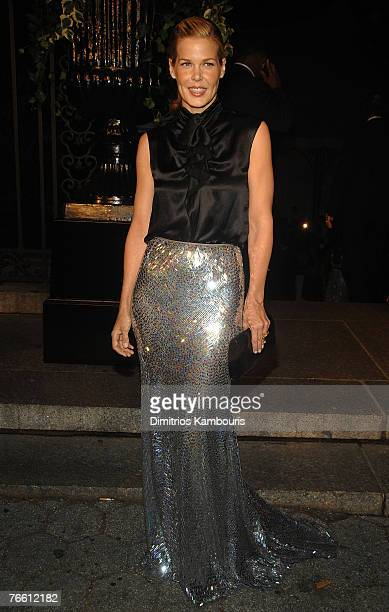 Mary Alice Stephenson attends Mercedes-Benz Fashion Week Spring 2008 Ralph Lauren Show at Central Park Conservatory Garden on September 8, 2007 in...