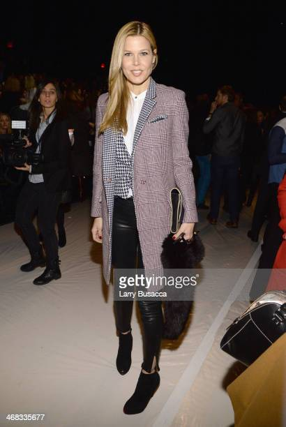 Mary Alice Stephenson attends the Carolina Herrera fashion show during MercedesBenz Fashion Week Fall 2014 at The Theatre at Lincoln Center on...