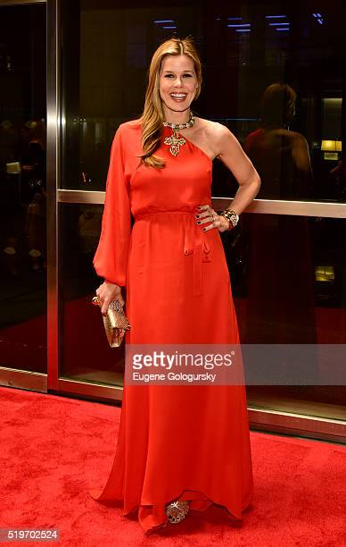 Mary Alice Stephenson attends the New Yorkers For Children's Spring Dinner Dance A Fool's Fete at Mandarin Oriental New York on April 7 2016 in New...