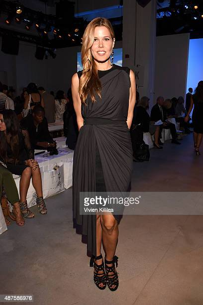 Mary Alice Stephenson attends the Supima Design Competition fashion show during Spring 2016 New York Fashion Week The Shows at The Gallery Skylight...