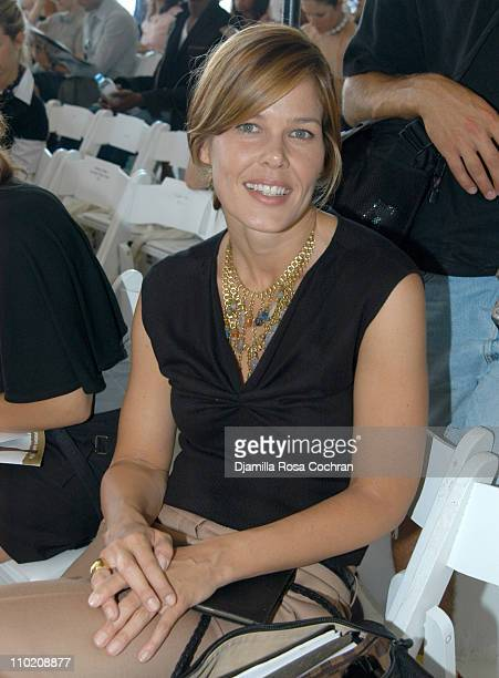 Mary Alice Stephenson during Olympus Fashion Week Spring 2005 Luella Bartley Front row and Backstage at Boylan Studios in New York City New York...