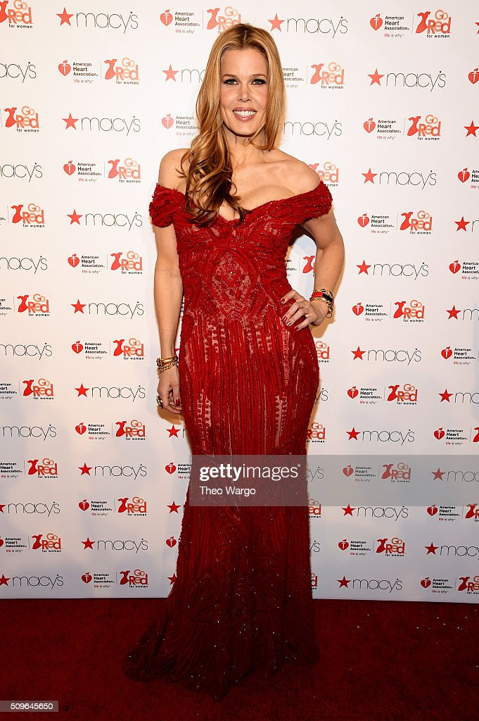Mary Alice Stephenson, wearing a limited edition, red leather Fitbit Alta(TM), attends The American Heart Association's Go Red For Women Red Dress Collection 2016 Presented By Macy's at The Arc, Skylight at Moynihan Station on February 11, 2016 in New York City.