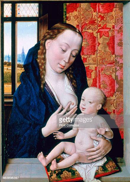 'Mary and Child' c1465 Located in the collection at National Gallery London