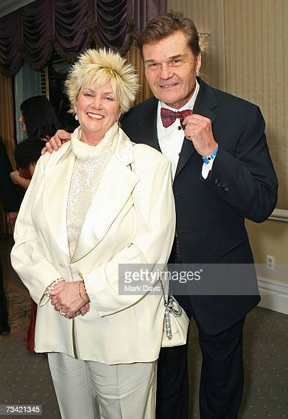 Mary and Fred Willard arrive at the 17th Annual Night Of 100 Stars Oscar Gala held at the Beverly Hills Hotel on February 25 2007 in Beverly Hills...