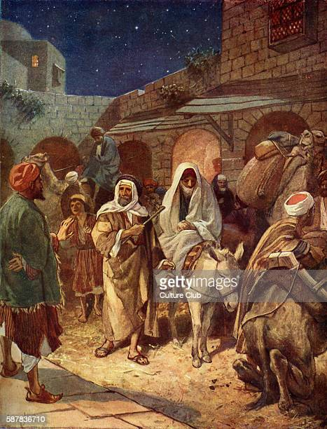 Mary and Joseph enter Bethlehem And Joseph went up from Galilee out of the city of Nazareth into Judaea to the city of David which is called...